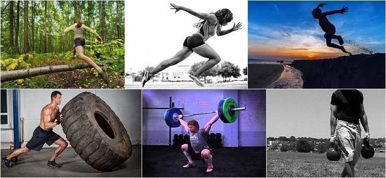 Las actividades físicas propuestas se enfocan en movimientos como recorrer la naturaleza periódicamente, correr a máxima velocidad algunas veces, saltar, arrastrar, levantar, trasladar y arrojar objetos, mantenerse en movimiento el mayor tiempo posible.