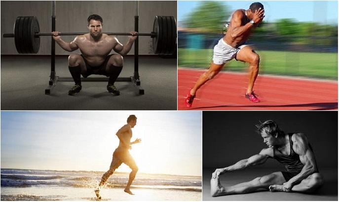 En el entrenamiento priorizar los ejercicios de fuerza, velocidad, resistencia y flexibilidad.