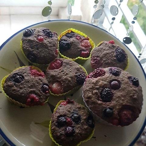 Muffins Algarroba